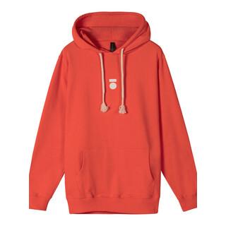 Hoodie fluor red
