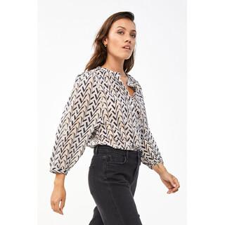Lora Coconut blouse
