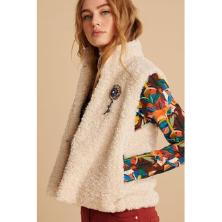 Jacket Teddy Ivory Ecru
