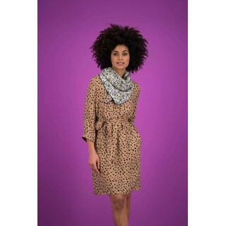 Dress - Leopard Sand