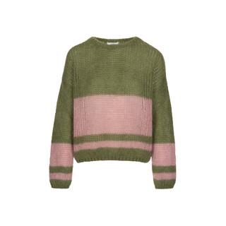 Evi Astro pullover - olive
