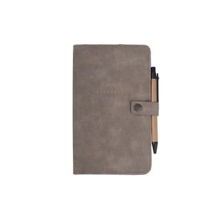Adresboek warm grijs
