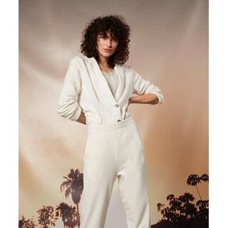 Pants linen - ecru