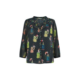 Blouse lucky charms dark