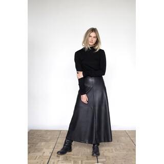 Skirt - W21N1017 - black leatherlook