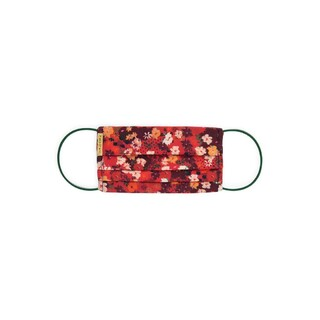 Face mask - Flower Parade Red