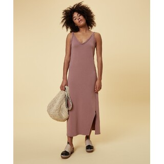 Strappy dress fleece - dust pink