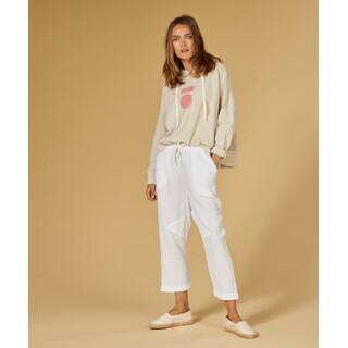 Pants crinkle - white