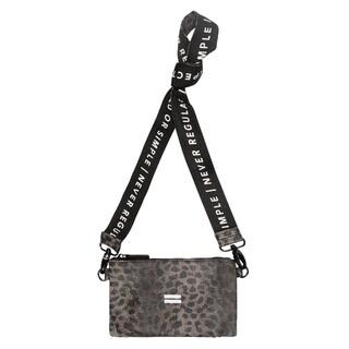 Mini pouch leopard camo