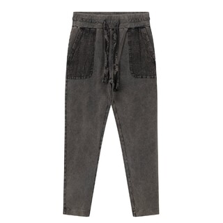 Jogger washed grey