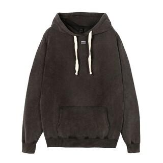 Soft hoodie logo grey