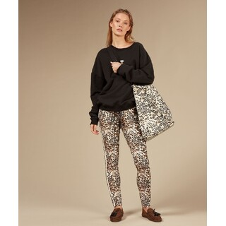 Leopard sporty pants