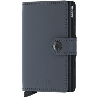 Secrid Miniwallet Grey-Black
