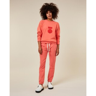 Cropped jogger - coral