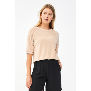 Neva slub sweater - nude