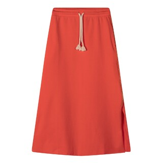 Easy skirt fluor red