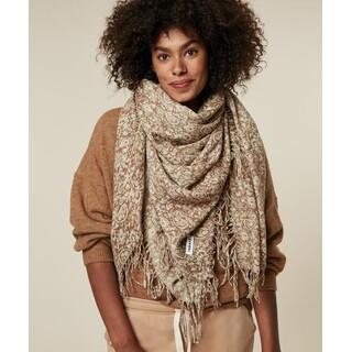 Scarf paisley wool
