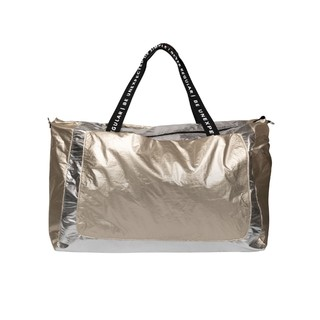 Weekend bag metallic