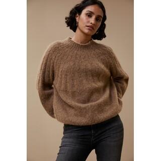 Zoe pullover camel